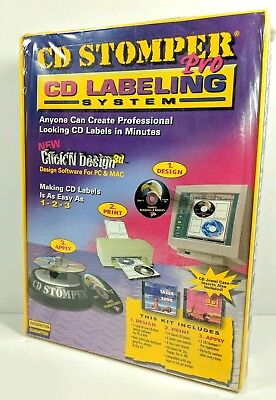 Cd Stomper Pro Cd Labeling System With Click In Design 3d Sealed Rs6