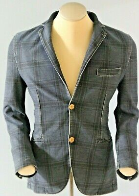Circolo 1901 Cotton Denim Jacket, Men's Small