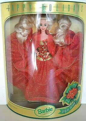 1993 Special Edition Blonde HAPPY HOLIDAYS Barbie