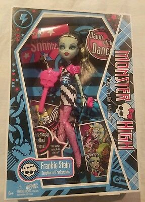 Monster High Dawn of the Dance Frankie Stein Doll 2009 In Original Retail Box