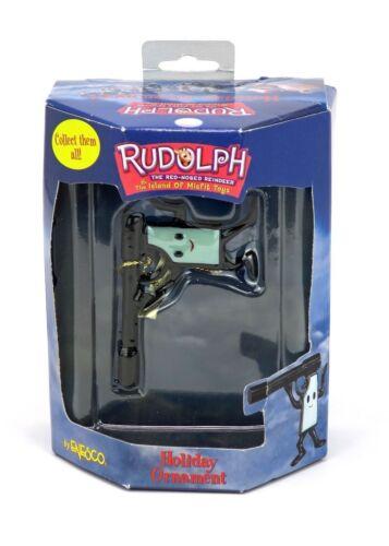 Rare Enesco CVS Rudolph Island of Misfit Toy Jelly Pistol Gun Christmas Ornament