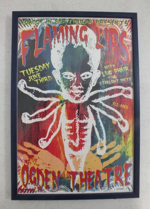 Flaming Lips w/Liz Phair Live @ Ogden Theater Denver CO Limited Ed. Poster 59/99