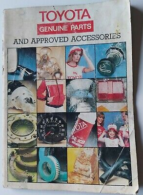Classic Toyota Parts and Accessories Brochure 1977/78