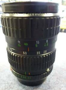 TAKUMAR-A CAMERA LENS 28-80MM FAULTY SOLD AS IS Campbelltown Campbelltown Area Preview