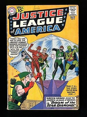 Justice League Of America #4 VG+ 4.5 DC Comics