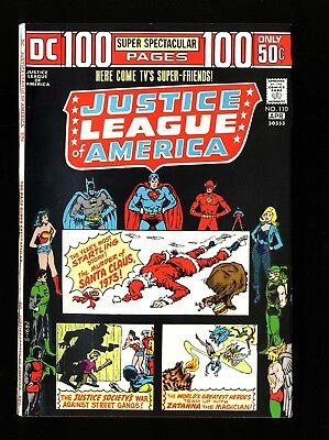 Justice League Of America #110 VF/NM 9.0