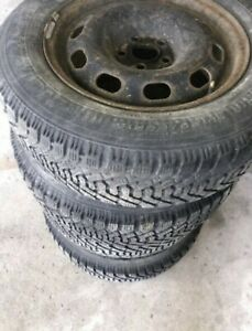 P195/65R15   CHEAP  GOODYEAR  WINTER     TIRES   VW     15in