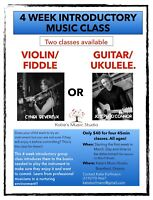 Music lesson Intro Class!!! Try out an instrument!!