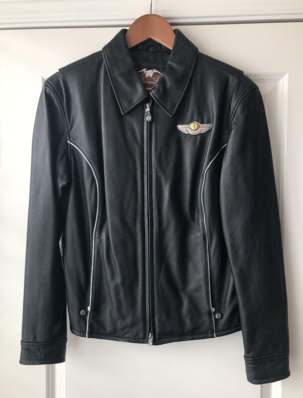 HARLEY DAVIDSON 100th Anniversary Leather Jacket Women