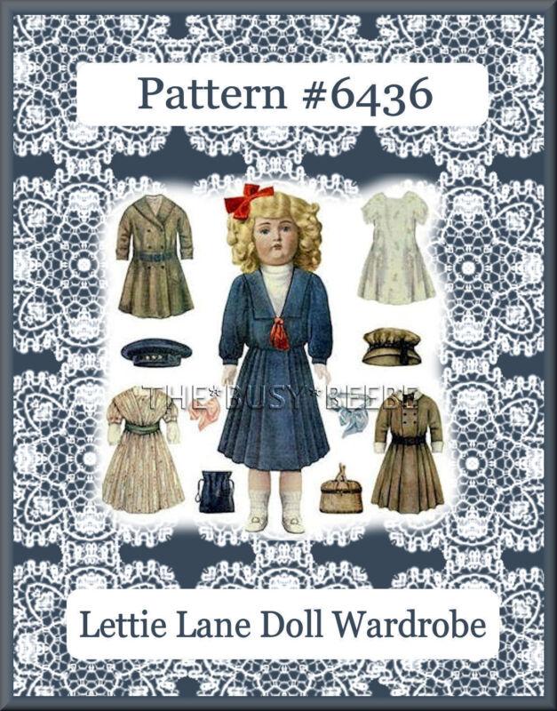 "6436 Lettie Lane - Daisy Doll 6 Patterns LHJ-Set 18"""