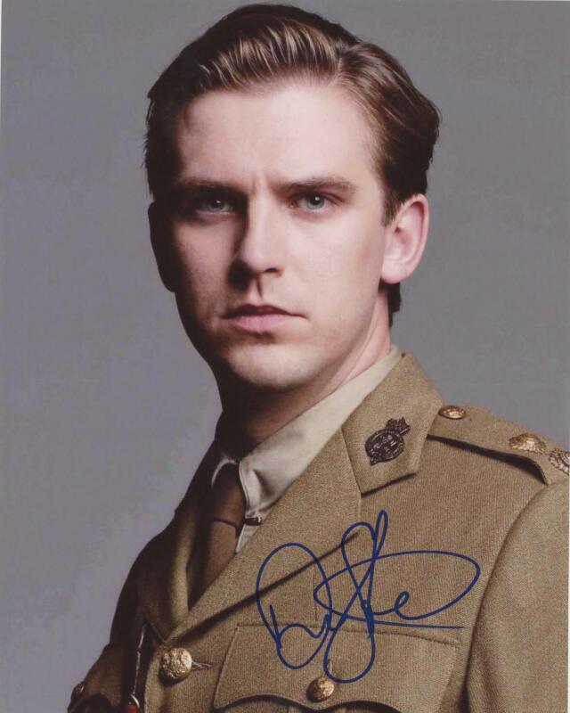 """Dan Stevens """"Downton Abbey"""" AUTOGRAPH Signed 8x10 Photo D ACOA"""
