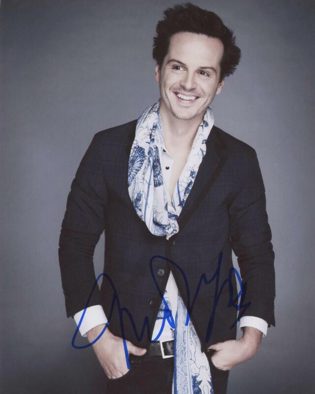 "Andrew Scott ""Sherlock"" AUTOGRAPH Signed 8x10 Photo C"