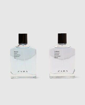 ZARA MAN SEOUL & LISBOA – EAU DE TOILETTE Perfume 2x100 ml
