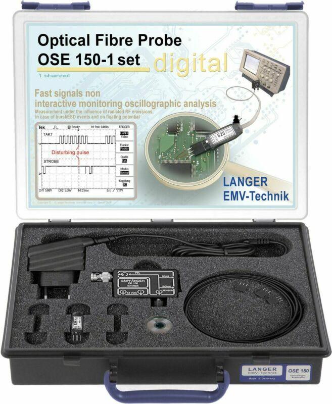 Langer EMV OSE 150-1 Set Optical Fiber Fibre Probe 1-channel 50Mbps EMC Probes