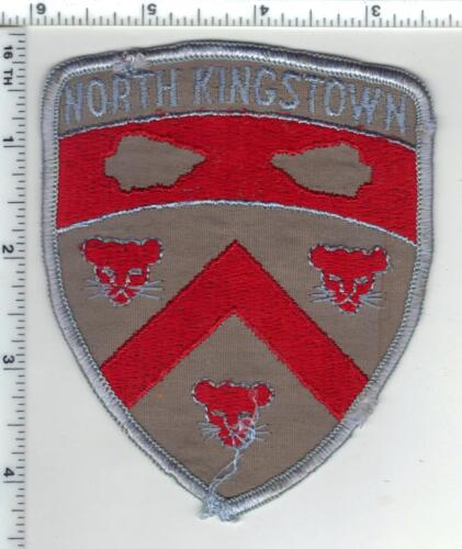 North Kingstown Police (Rhode Island) 2nd Issue Uniform Take-Off Shoulder Patch