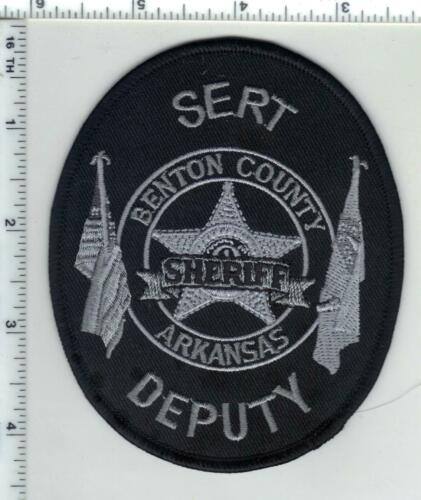 Benton County Sheriff Deputy (Arkansas) 1st Issue SERT Subdued Shoulder Patch