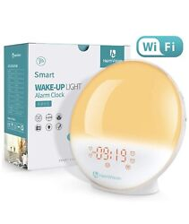 HEIMVISION A80S WAKE UP LIGHT ALARM CLOCK SMART CONTROL NEW in BOX!!!!