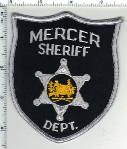 Mercer Sheriff (West Virginia) 2nd Issue Shoulder Patch
