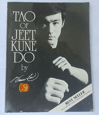 Tao of Jeet Kune Do - Paperback By Lee, Bruce 1994 Printing Ohara