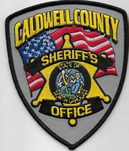 Caldwell County Sheriff State North Carolina NC
