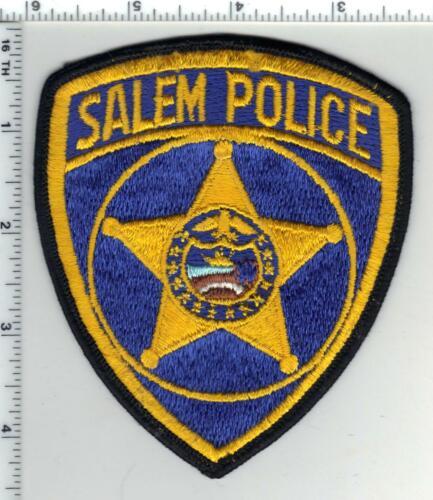 Salem Police (Oregon) 2nd Issue Shoulder Patch
