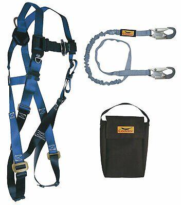 Condor Fall Protection Kit Universal 310 Lb. 19f395 Falltech G9005ps