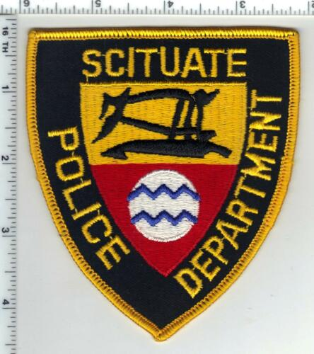 Scituate Police (Rhode Island) Narrow Waves Shoulder Patch - new from the 1980