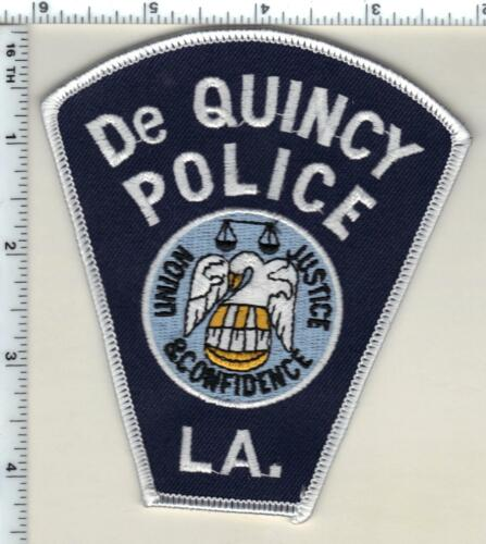 De Quincy Police (Louisiana)  Shoulder Patch - new from 1990