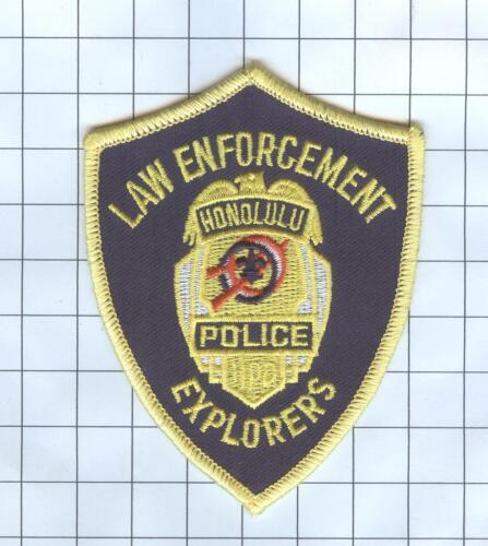 Police Patch  - Hawaii - Law Enforcement Honolulu Explorers