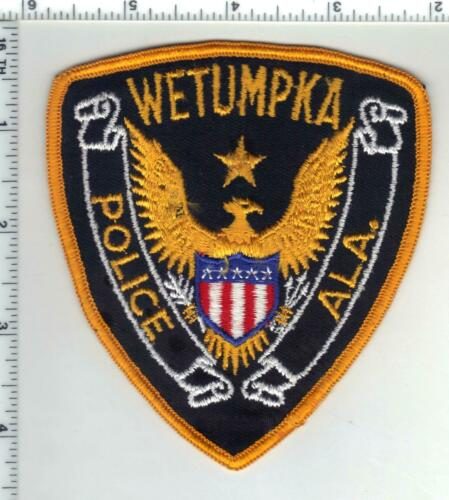 Wetumpka Police (Alabama) 1st Issue Shoulder Patch