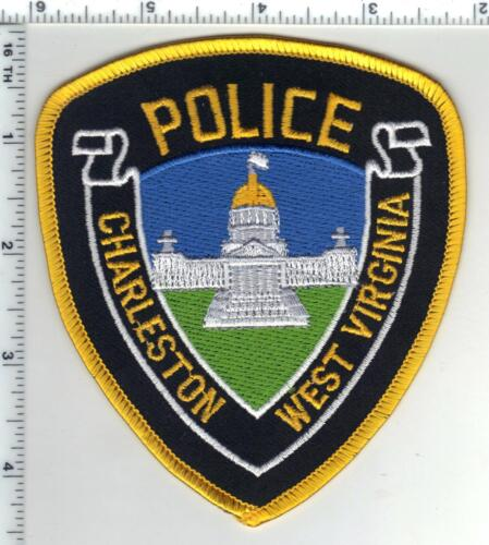 Charleston Police (West Virginia) 3rd Issue Wide Border Shoulder Patch