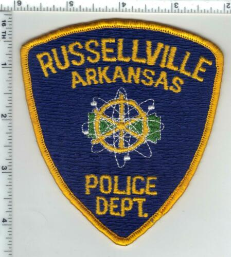 Russellville Police (Arkansas) 1st Issue Shoulder Patch