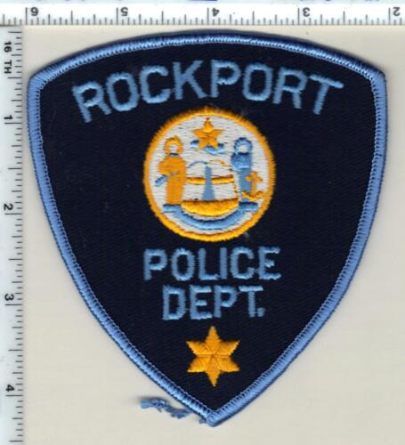 Rockport Police (Maine) Shoulder Patch - new from 1985