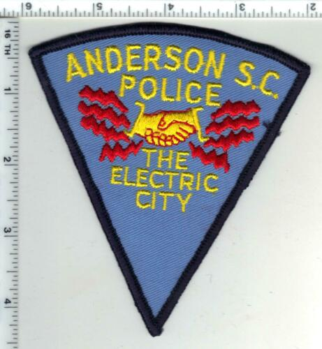 Anderson Police (South Carolina) 1st Issue Uniform Take-Off Shoulder Patch