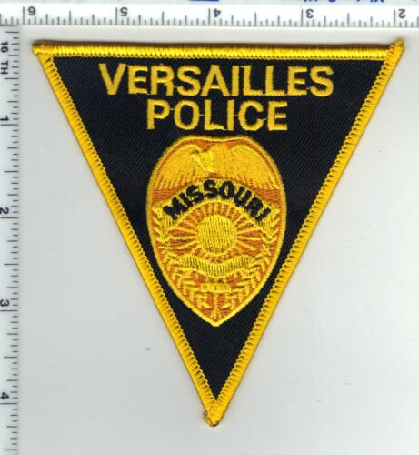 Versailles Police (Missouri)  Shoulder Patch - new from the 1980