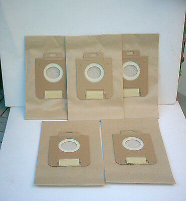VACUUM CLEANER BAGS X 5 TO FIT ELECTROLUX ZT7740 ZT 7740 MODELS