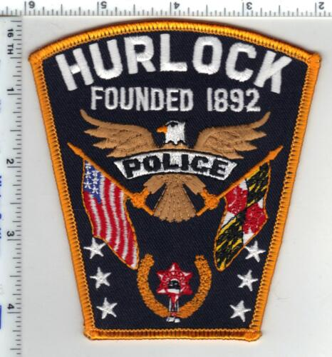 Hurlock Police (Maryland) Shoulder Patch - new from the 1980