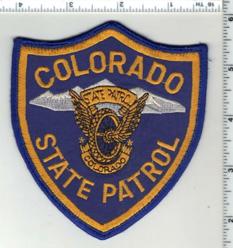 Colorado State Patrol 3rd Issue Uniform Take-Off Shoulder Patch
