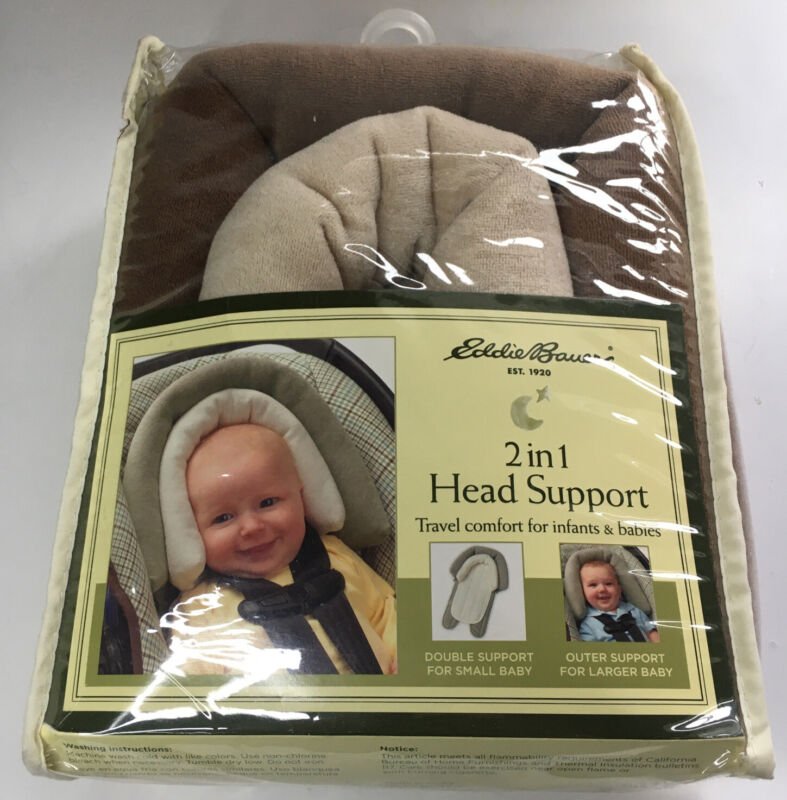Eddie Bauer 2 in 1 Head Support Baby Infant NEW Car Seat Stroller Bouncer