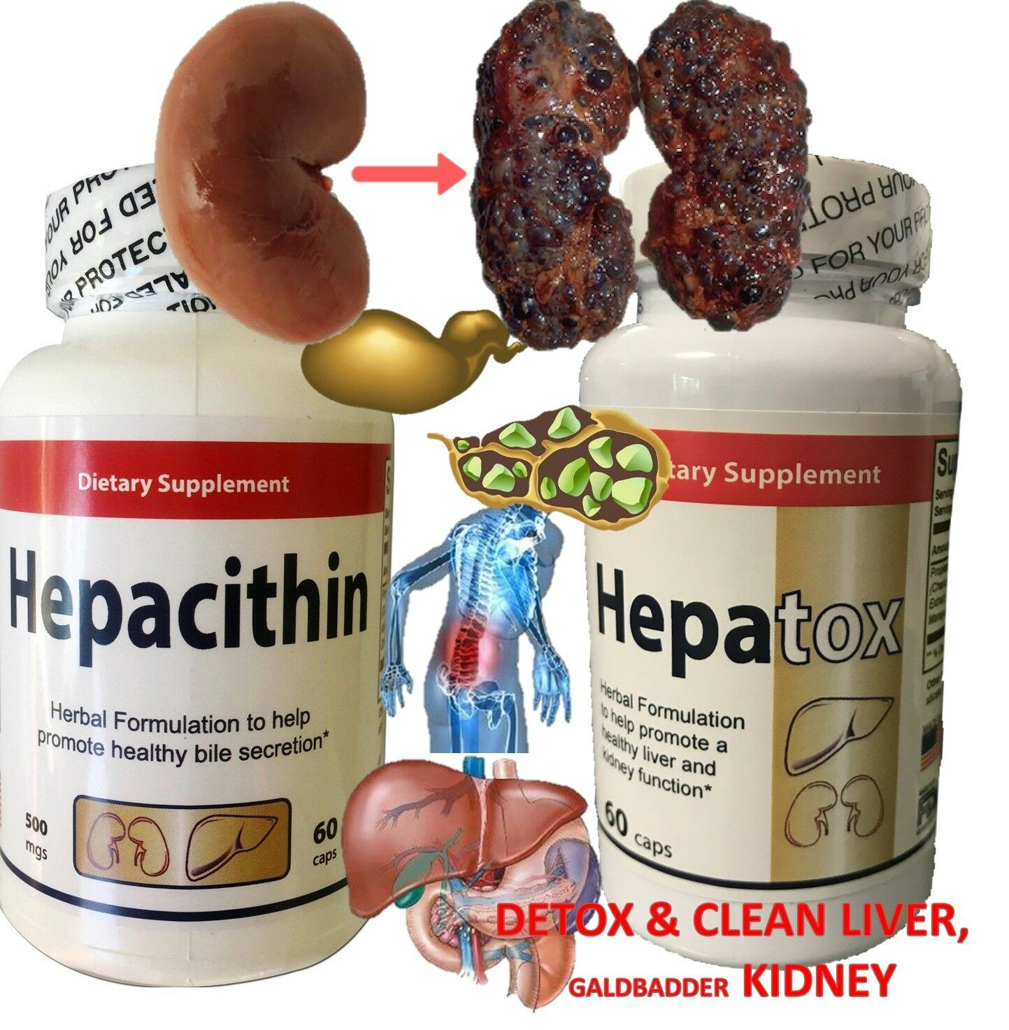 FATTY LIVER HUMAN NATURAL SUPPLEMENT TREAT PREVENT MADE IN USA liver detox clean