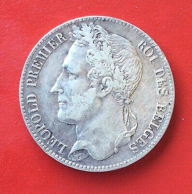 Belgique - Léopold Ier -  Très Jolie monnaie de  5 Francs  1847