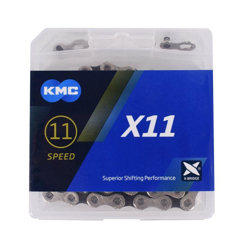 KMC X11 11-Speed Stretch-Proof Bike Chain 118L X11.93 fits Campy SRAM Shimano
