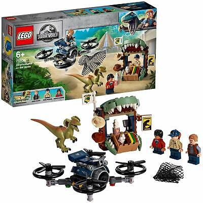 LEGO 75934 Jurassic World Dilophosaurus On The Loose - New Boxed +Free 24h Del