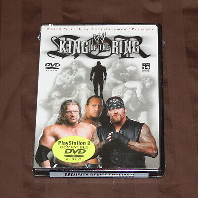 WWE - King of the Ring 2002 (DVD, 2002) WWF BRAND NEW *RARE*