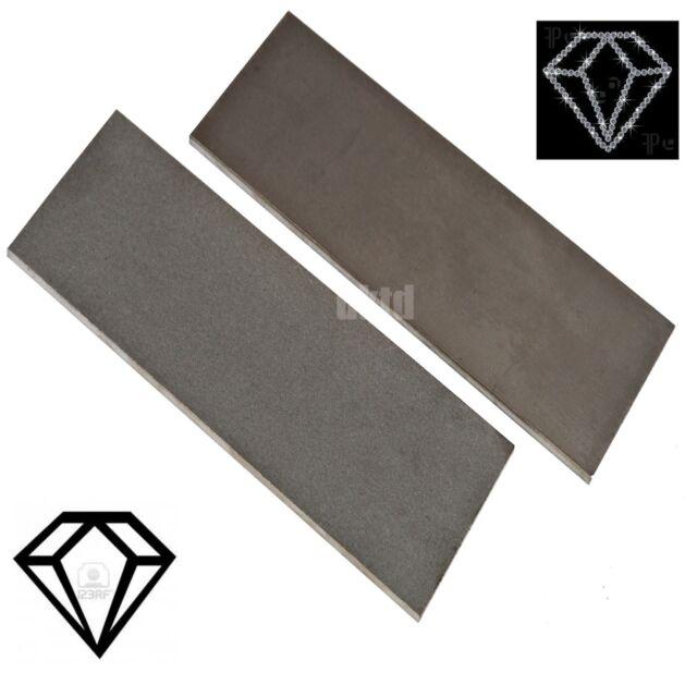 Diamond Whetstone Set 2pc Set Fine Coarse 150x50x4mm Solid
