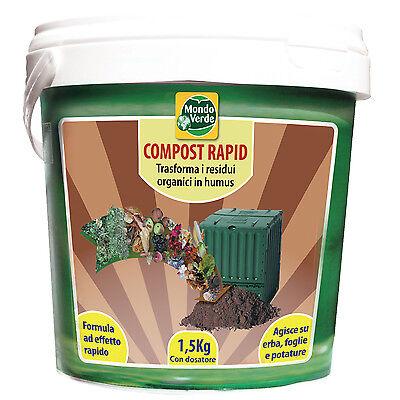 Composter attivatore di compostaggio rifiuti organici riciclare residui organici