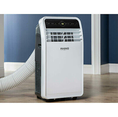 Rhino Air Conditioning Unit AC9000 Dehumidifier Cooling Fan 240V Portable H03620