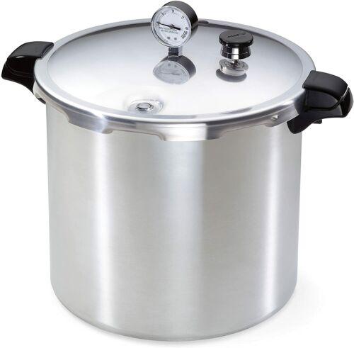 Presto 23 Quart Pressure Canner & Cooker #01781. Extra Strong Aluminum.