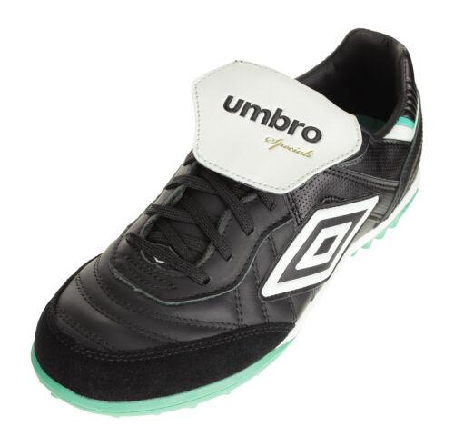 Umbro Men's Speciali Eternal Team Turf Soccer Shoes, Black/W