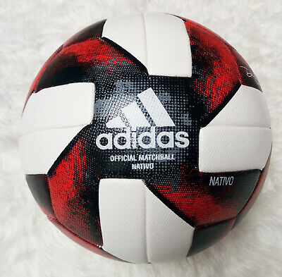 NEW Adidas 2019 MLS Major League Soccer Official Match ball Size 5 Red Color